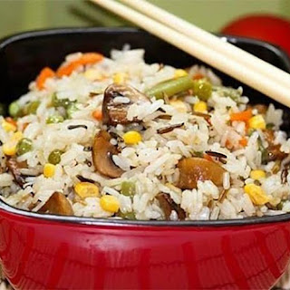 Incredibly Delicious Mushroom Vegetable Rice