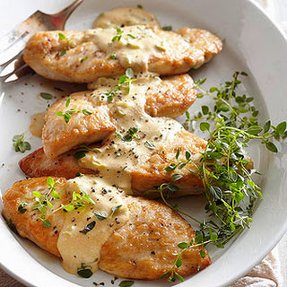 Chicken Dijonnaise.