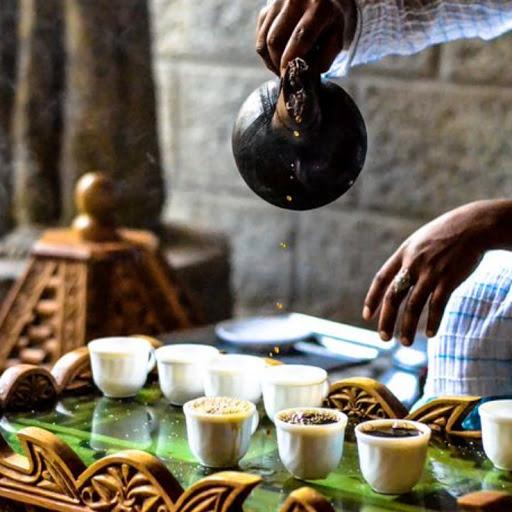 Ateliers de découverte des cérémonies du café africain