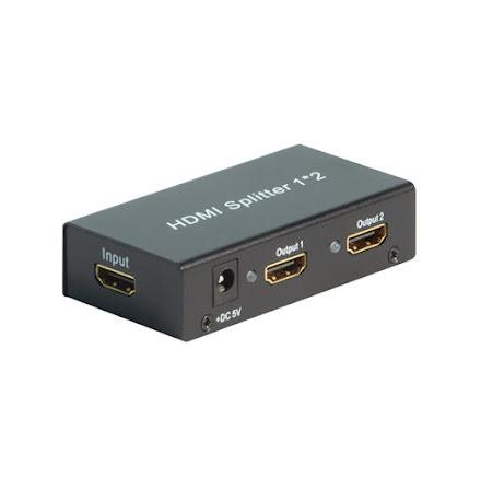 HDMI Splitter med 2 utgångar