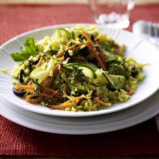 Bulgur Wheat and Carrot Salad.
