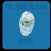 US Virgin Islands Maps