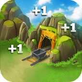 Clicker Mine Idle Tycoon - Gold Miner Heroes Free