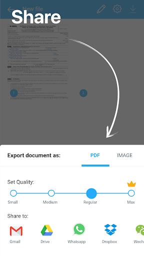 Camera Scanner To Pdf screenshot 5