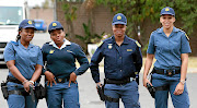 GOOD SHOW: Newly recruited police officers Mbuyiselo Kunene, Nokukhanya Dlamini, Ntombifuthi Dlamini and Ashleigh Conwaywere lauded for  collaring a heavily armed gang of robbers after it attacked  a Durban fast-food outlet last week Picture: THULI DLAMINI