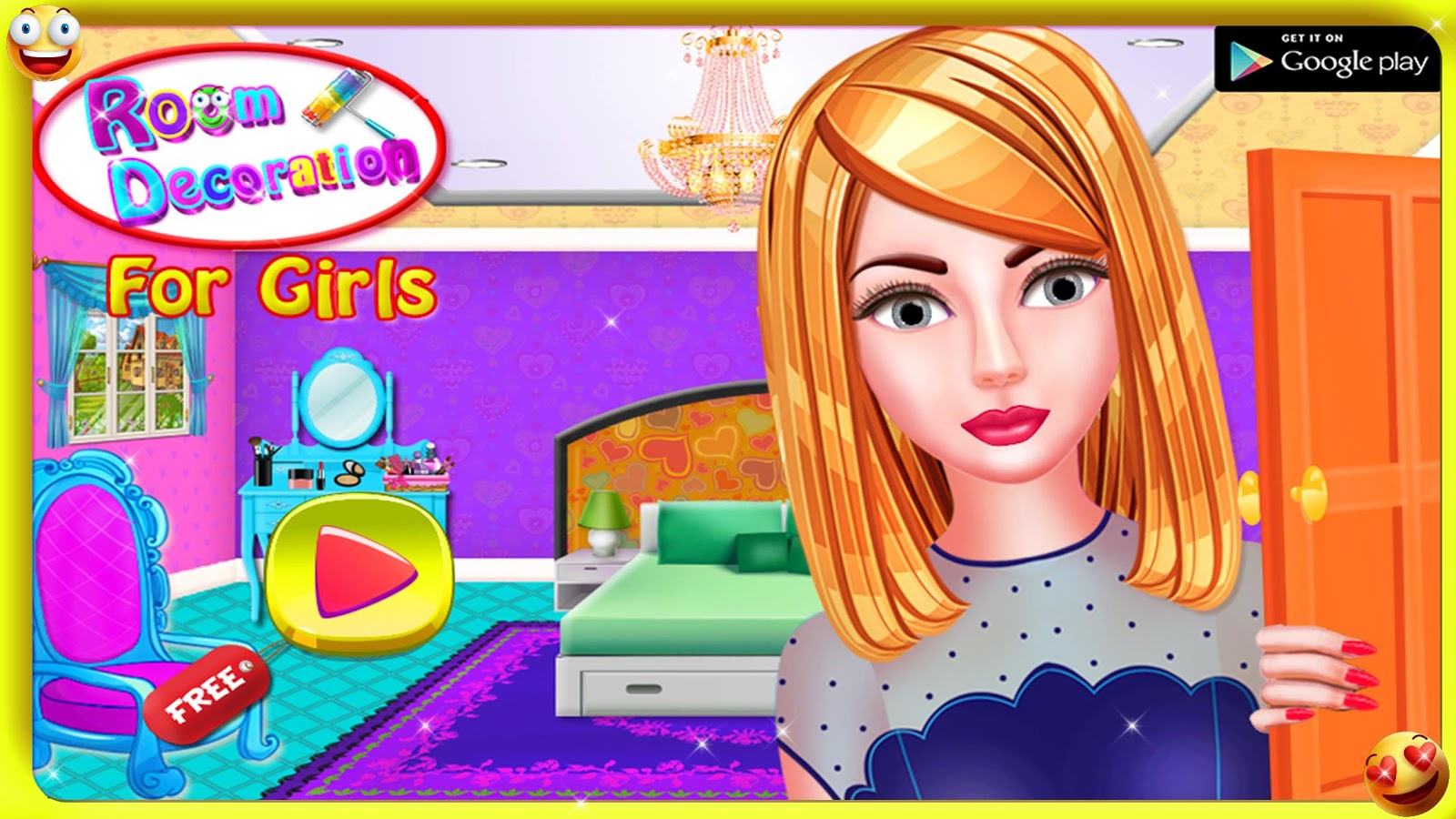 room decoration girls games - android apps on google play