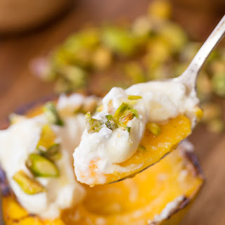 Grilled Mango with Whipped Honey Ricotta Cream Recipe