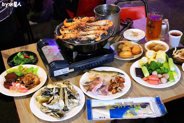 台灣庄腳情|台中泰國流水蝦+古早味手路菜吃到飽,爽嗑東石鮮蚵,挑戰最高CP值