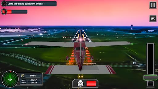 Flight Plane Simulator 3D : Airplane Flying Sim apkpoly screenshots 5