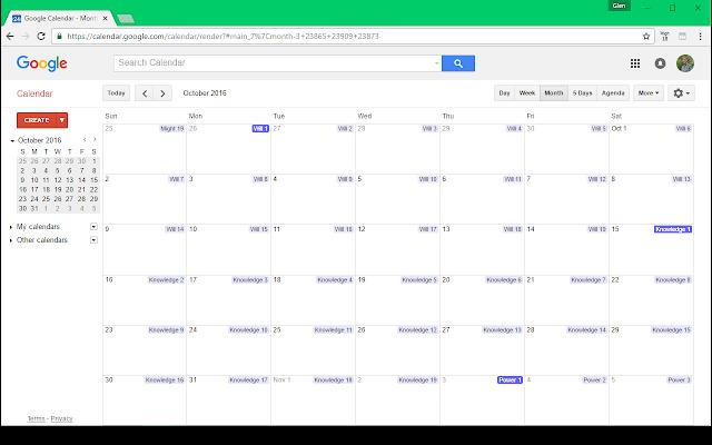 Badíʿ Calendar - Helper for Google Calendar