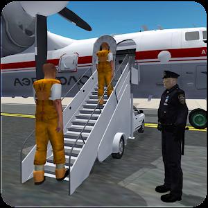 刑務所の犯罪者輸送機