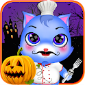 Halloween sweet pet Chef icon