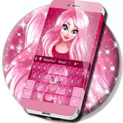 App Cute Cartoon Girl Keyboard APK for Windows Phone