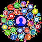 すべての社会的ネットワーク icon