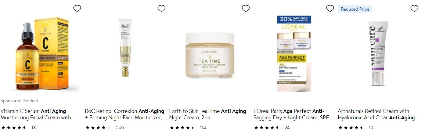 Examples of dropshipping products to avoid among cosmetics