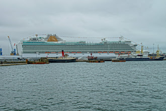 Photo: In Southampton on the same day
