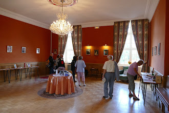 """Photo: """"Les Écrits des voyages en RUSSIE"""" dans le Salon Delphine de CUSTINE"""