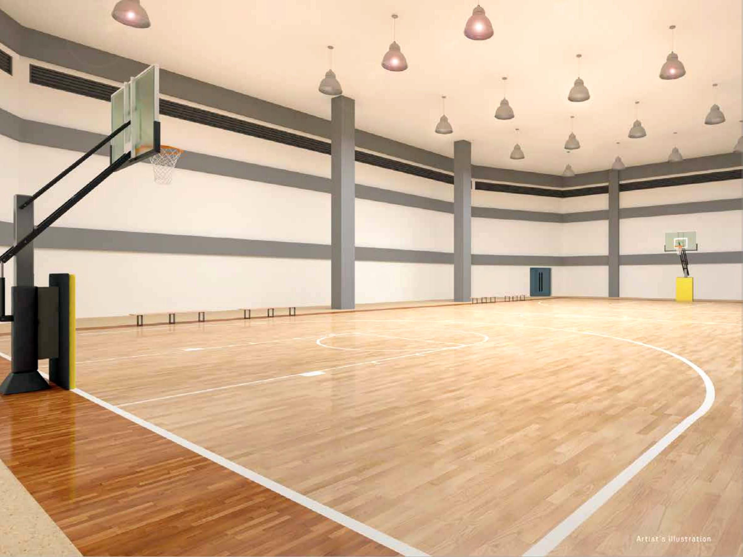 The Arton by Rockwell, Katipunan, Quezon City basketball court