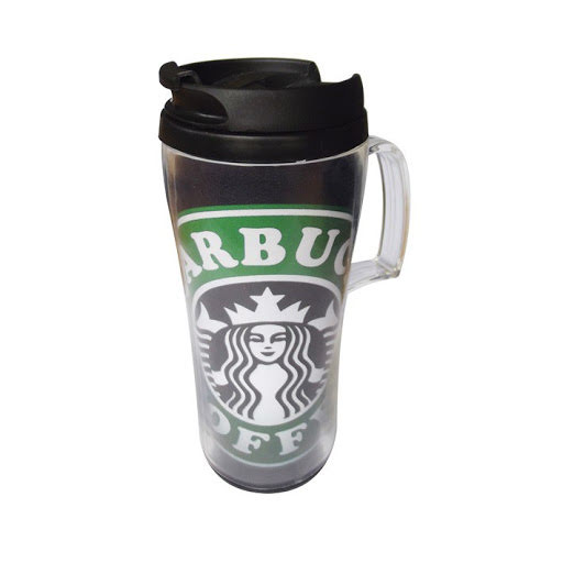 Thermal Travel Mugs with Colour Insert