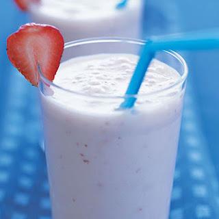 Fresh Fruit Pudding Milk Shake