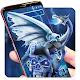 Blue Ice Dragon Skull Launcher Theme for PC-Windows 7,8,10 and Mac