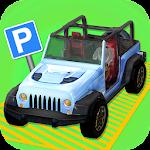 4x4 Parking Icon
