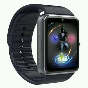 Ceas Bluetooth cu telefon 1.3 mpx, Smartwatch GT Black Edition, iOS & Android