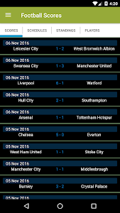 Football Scores screenshot 0