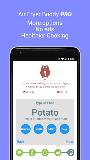 Screenshot for Air Fryer Buddy PRO in United States Play Store