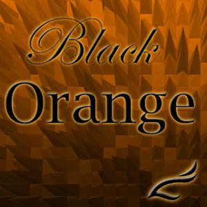 Negro Naranja Tech Gratis