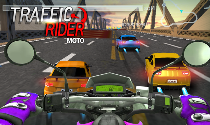 Traffic Moto Rider - screenshot