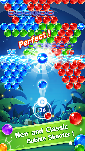 Bubble Shooter Genies Android App Screenshot