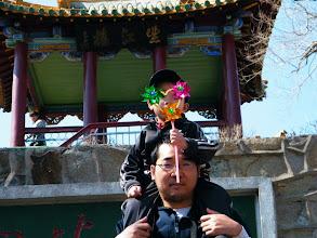 Photo: me, benzrad, with my baby son, warren zhu.