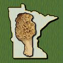 Minnesota Mushroom Forager Map Morels Chanterelles icon