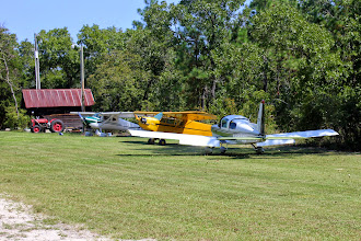 Photo: This is Les' third time to PB from Unity Airfield upstate.