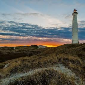 lyngvig fyr by M. Andersen - Landscapes Sunsets & Sunrises