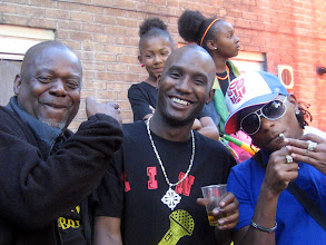 Photo: KT, Scrappa & DJ Mark