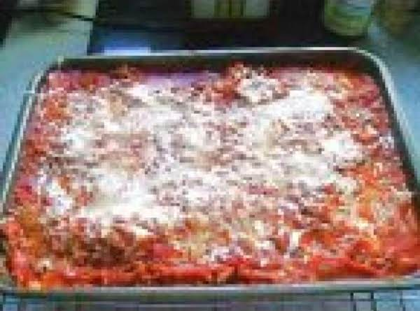 Cheesy Meat Lasagna