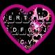 Sparkling Purple Heart Keyboard Theme