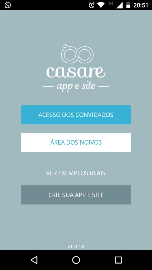 Casare- screenshot