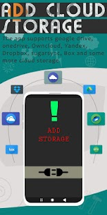 File Manager - Local and Cloud File Explorer Screenshot