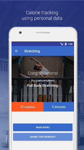 Stretching & Flexibility Routines by Fitify  screenshots 4