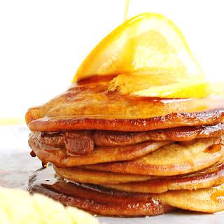 Cinnamon Orange Pancakes.