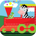 Zoo Train Free Game For Kids icon