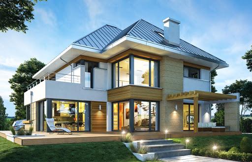 projekt Dom z widokiem 2 C