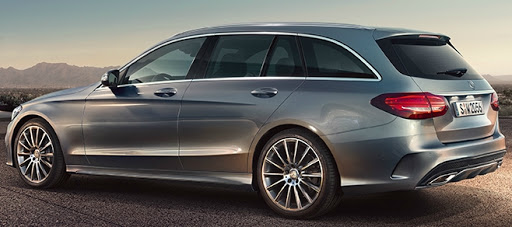 mercedes c class estate car leasing