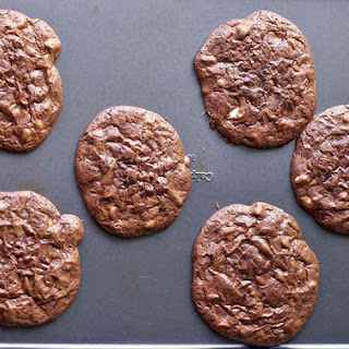 Quadruple Chocolate Cookies.