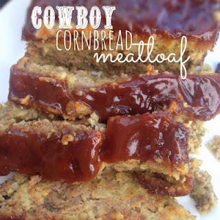 Easy Weeknight Dinners Recipe – Cowboy Cornbread Meatloaf.
