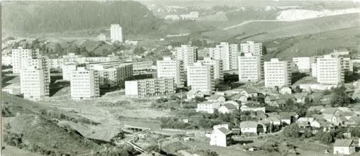 Photo: Pohľad na sídlisko a časť Krásnej Hôrky pred 20- timi rokmi