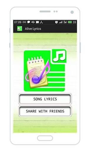 Sia - Alive Lyrics